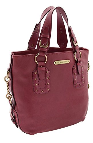 Michael Kors Womens Big Valley Lg Ns Leather Tote Shoulder Bag, Cinnabar, One Size