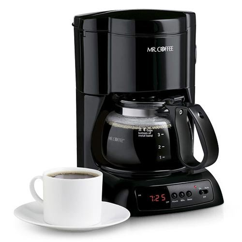 cf coffee maker: Mr. Coffee NLX5 4-Cup Programmable Coffee Maker