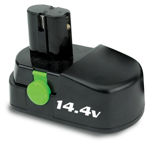 Kawasaki 840662 14.4 Volt Replacement Battery, Black