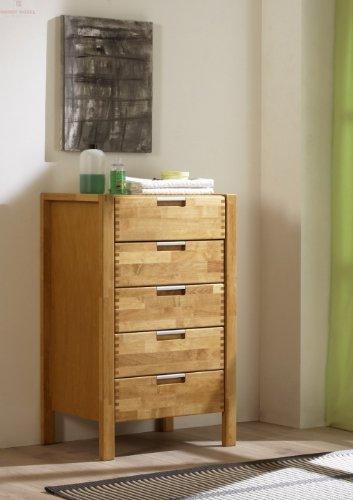 Firstloft-106-0300-Kommode-Volo-5-Schubksten-Erle-teilmassiv-59-x-93-x-42-cm-gelt