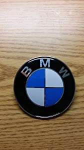 Roundel 82mm 2pins Emblem Logo Front Hood Or Rear Trunk Badge Symbol For Bmw by bmw