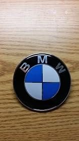 New Roundel 82mm 2pins Emblem Logo Front Hood or Rear Trunk Badge Symbol for Bmw