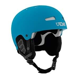 TSG Herren Snowboardhelm Gravity Snow Solid Color, Flat Dark Cyan, 52-54 cm, 790600-05-382