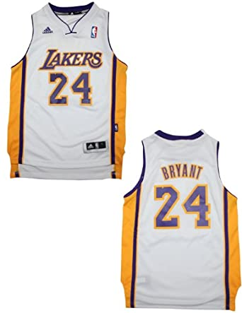 NBA Los Angeles Lakers Bryant #24 Youth Pro Quality Athletic Jersey Top by NBA