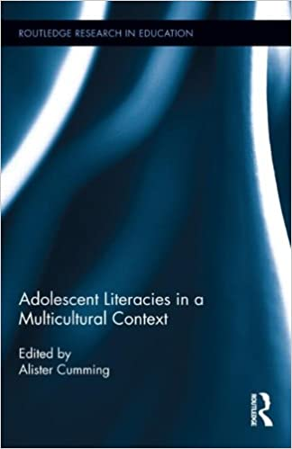 Book cover: adolescent literacies in a multicultural context