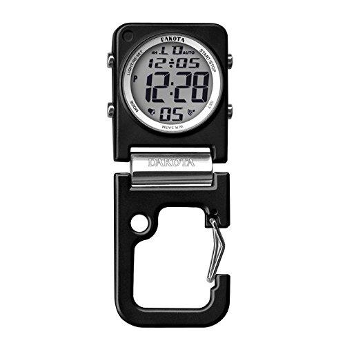 Men's Digi Square Clip Watch