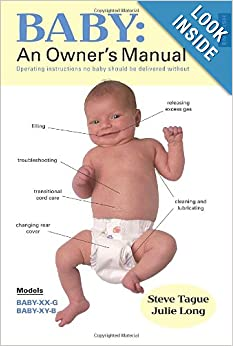 Baby An Owner S Manual Operating Instructions No Baby