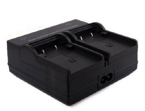 Dual Channel Digital Battery Charger For Jvc Bn-Vf808, Bn-Vf808U, Bn-Vf815, Bn-Vf815U, Bn-Vf823, Bn-Vf823U, Bn-Vf823Usp And Jvc Everio Gs-Td1, Gy-Hm70U, Gy-Hm100U, Gy-Hm150U, Gz-Hmz1U, Gz-Mg230, Gz-Mg255, Gz-Mg275, Gz-Mg330, Gz-Mg335, Gz-Mg340, Gz-Mg360,
