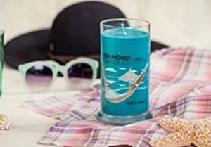 Tropical Retreat Scent Diamond Ring Jar Candle (Rings Inside Value From $10 to $5000)