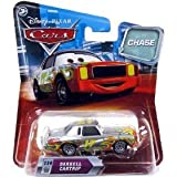 Disney / Pixar CARS Movie 1:55 Die Cast Car with Lenticular Eyes Series 2 Darrell Cartrip Metallic Finish Chase Piece!