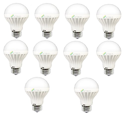 3W E27 LED Bulb (White, Pack of 10)