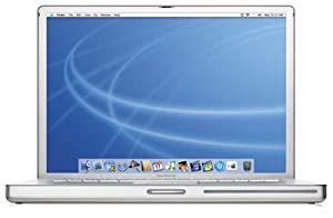 "Apple PowerBook Laptop 15"" M9422LL/A (1.50-GHz PowerPC G4, 512 MB RAM, 80 GB Hard Drive, SuperDrive)"