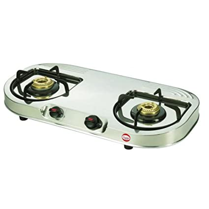 GS 02 B Gas Cooktop (2 Burner)