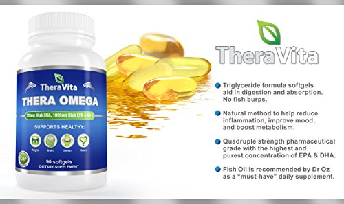 Fish oil omega 3 supplement in triglyceride form for Fish oil triglyceride form