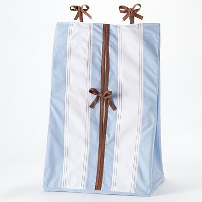 Metro Blue/Choc Diaper Stacker