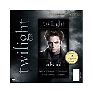 NECA Twilight Rubber Wall/Floor Mural Mat Edward