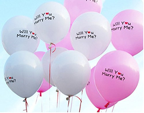 "Letshopping(tm) "" Will You Marry Me ?"" Balloons, Love Party Balloons - Love Party Decorations - 1"