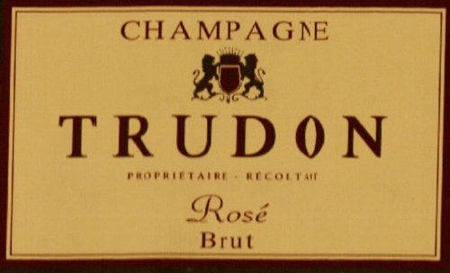 Trudon NV  Brut Rose, Champagne 750 mL