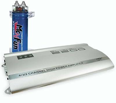2200W Car-Set Verstärker Kondensator CAR-285 von Etc-shop