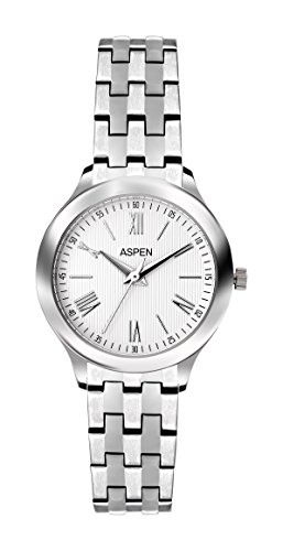 Aspen Aspen Workwear Analog Silver Dial Women's Watch - AP1722
