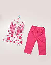 Snoby Capri and polka dot top set(SBY869)