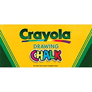Crayola Drawing Chalk - 144-Pack 2PC