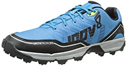 Inov-8 Arctic Talon 275 Trail Running Shoe, Blue/Black/Silver/Yellow, 9 C US