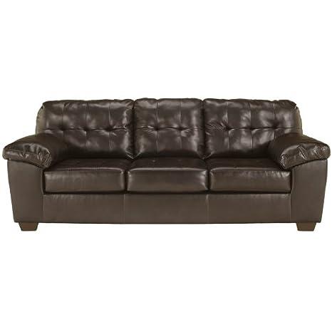 Flash Furniture Alliston Sofa, Chocolate Dura Blend