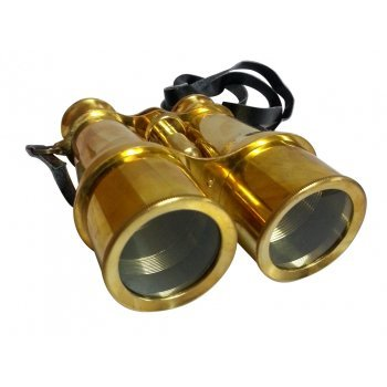 VINTAGE NAUTICAL ANTIQUE STYLE MARINE BRASS BINOCULAR