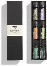 Aromatherapy Top 6 100% Pure Therapeutic Grade Basic Sampler Essential Oil Gift Set- 6/10 Ml (Lavender, Tea Tree, Eucalyptus, Lemongrass, Orange, Peppermint)
