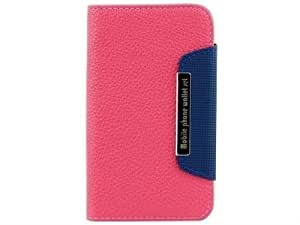Gioiabazar Sony Xperia ZL L35H C6502 Leather Flip Case Cover Pouch Table Talk Wallet Pink
