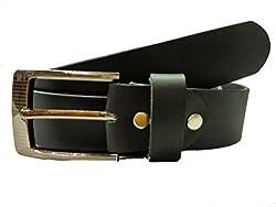 SMT Men's Trouser Leather Belt Black color Size-44