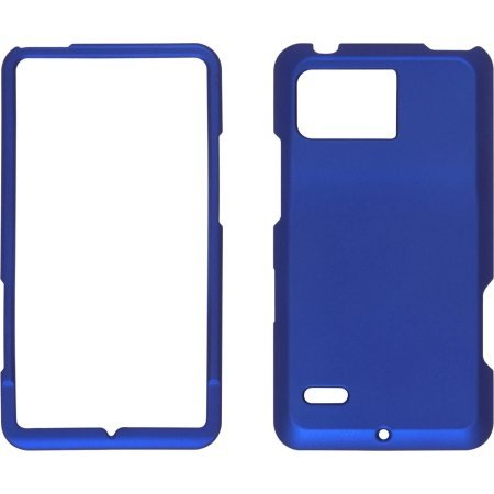 Wireless Solutions Blue Soft Touch Snap-On Case For Motorla Droid Bionic Xt875 - Retail Packing
