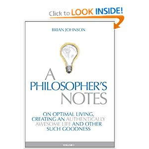 A Philosopher's Notes - Brian Johnson