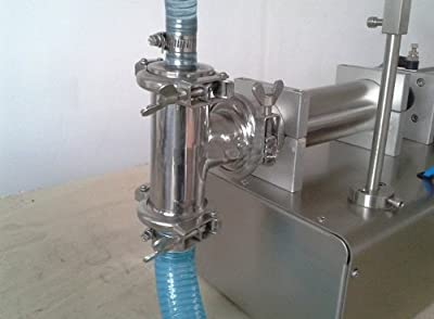 Gowe® Liquid Filling Machine, Pneumatic, Semi Filler, Stainless Steel,single Head Liquid Filler 1000-5000 Ml