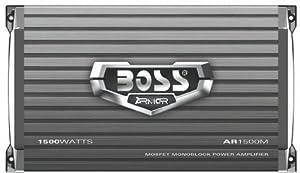 Boss AR1500M ARMOR 1,500-Watt Mono Mosfet Amplifier from BOSS AUDIO