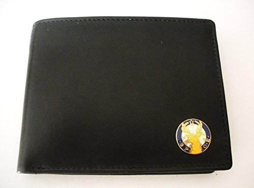 Elks Lodge B.P.O.E. Bi-Fold Italian Leather Wallet