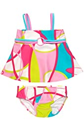 Kate Mack A La Mod Infant 2 Piece Swimsuit in Pink - 18 Months