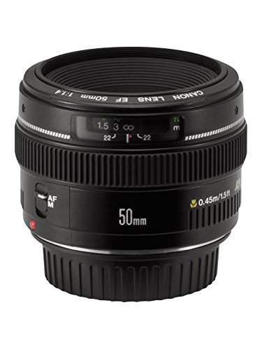 Cheapest Canon EF 50mm f/1.4 USM Standard & Medium Telephoto Lens for Canon SLR Cameras (online)
