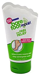 FREEMAN Bare Foot Repair Cream For Aches & SOre Muscle Relief 100 mL