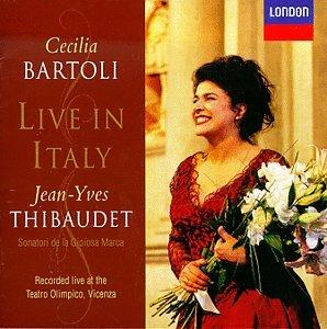Live In Italy (Bartoli, Bizet, Mozart..) - CD