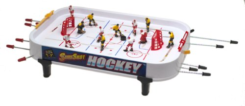 POOF-Slinky 33207BL Ideal Sure Shot Hockey Tabletop Game