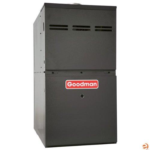 Goodman GMS80804BN Gas Furnace, Single-Stage Burner/Multi-Speed Blower, Upflow/Horizontal - 80,000 BTU