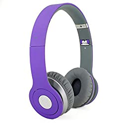 Fadedge Solo450 Wireless Headphones (Purple)