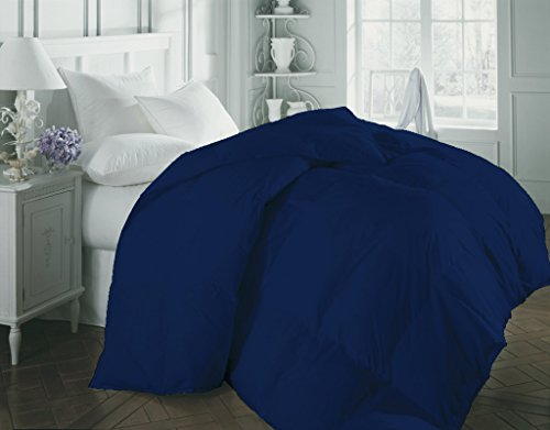 1200 Thread Count Luxurious and Hypoallergenic 100% Egyptian Cotton Duvet Egyptian Blue Twin By Kotton Culture Solid (Cocoon Feel 200 GSM Down Comforter with Microfibre filling) (Alternative Down Comfortor compare prices)
