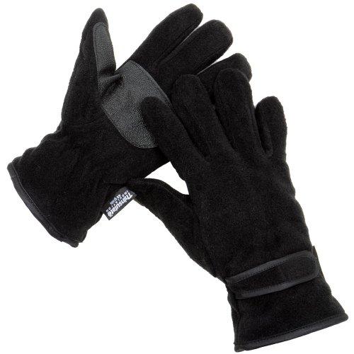 uomo-nero-guanti-in-pile-spesso-isolamento-thinsulate-40-g-e-pvc-grips-m-l