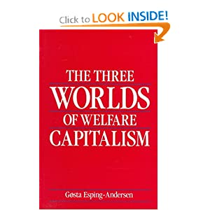 Amazon.com: The Three Worlds of Welfare Capitalism (9780691028576 ...