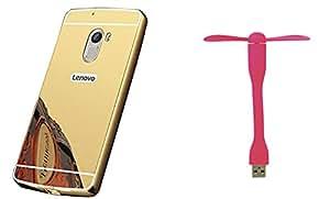 Novo Style Back Cover Case with Bumper Frame Case for Lenovo A6000+ Mini USB Fan Adjust Angle / bendable Portable Flexible USB Fan