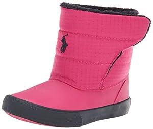 Polo Ralph Lauren Kids Damien Winter Boot (Toddler),Hot Pink,9 M US Toddler
