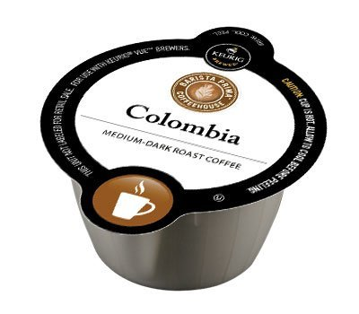 Barista Prima Coffeehouse Colombia Coffee for Keurig VUE Brewers (Keurig Barista Prima Columbia compare prices)